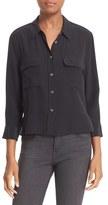 Equipment Women's 'Signature' Crop Three Quarter Sleeve Shirt