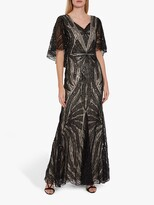 Thumbnail for your product : Gina Bacconi Adania Sequin Embellished Maxi Dress