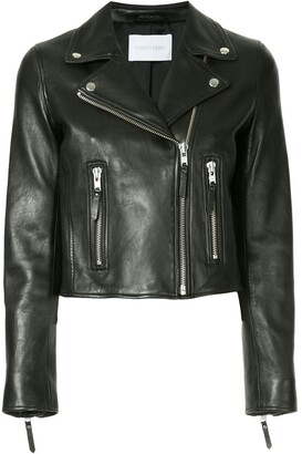 Nobody Denim Classic leather jacket