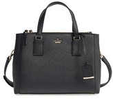 Kate Spade Cameron Street - Teegan Calfskin Leather Satchel - Black