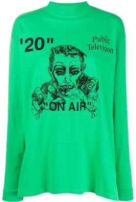Off-White Public Television top