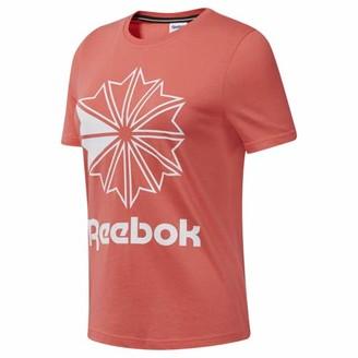 Reebok Classics Women's Big Logo Graphic Tee Shirt