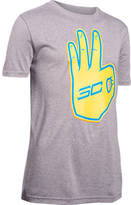 Under Armour Boys' SC30 Behind The Line T-Shirt