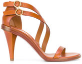 Chloé Niko cone heeled sandal - women - Leather - 36.5