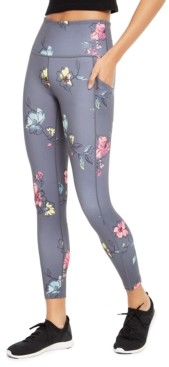 Ideology Floral-Print High-Waist Leggings, Created For Macy's