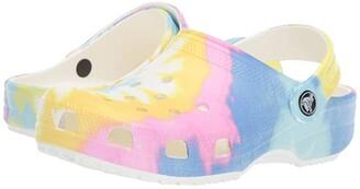 Crocs Classic Tie-Dye Graphic Clog (Toddler/Little Kid)