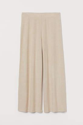 H&M H&M+ Fine-knit Pants - Beige