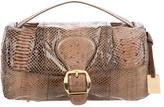 Furla Snakeskin Handle Bag