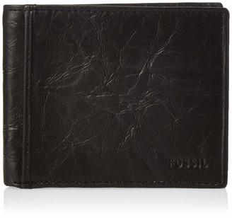 Fossil Men's RFID Blocking Ingram Bifold Wallet with Flip Id