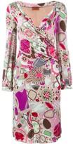 Missoni Pre Owned printed wrapdress