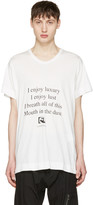 Julius White i Enjoy Luxury T-shirt