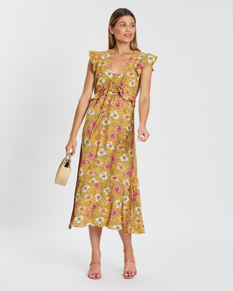 Atmos & Here Sasha Floral Print Dress