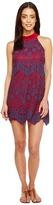 Brigitte Bailey Savina High Neck Lace Dress