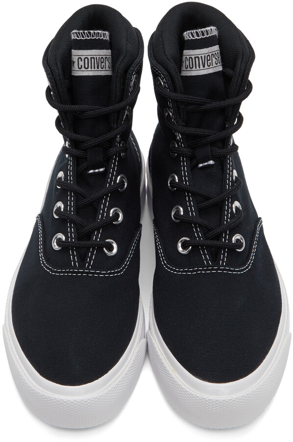 Thumbnail for your product : Converse Black Skid Grip CVO High Sneakers