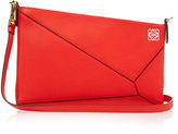 Loewe Puzzle leather clutch