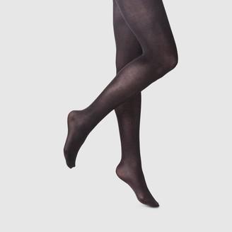 A New Day Women's 50D High Waist Opaque Tights Socks