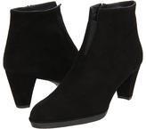 Stuart Weitzman Shortstory (Black Suede) - Footwear
