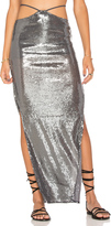 Indah Gigi String Waist Maxi Skirt