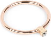 Annina Vogel 9 carat rose gold solitaire diamond ring