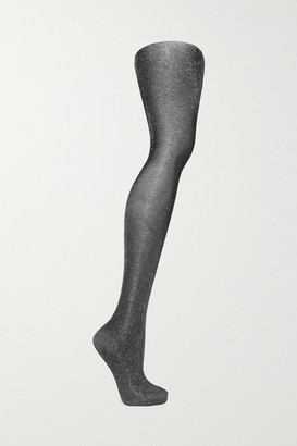 Falke Highshine Metallic 20 Denier Tights - Silver