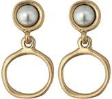 The Sak Small Pearl Doorknocker Earrings