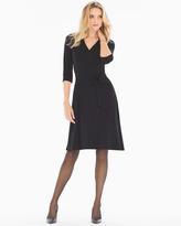 Soma Intimates Perfect Wrap 3/4 Sleeve Short Dress