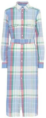 Polo Ralph Lauren Checked cotton shirt dress