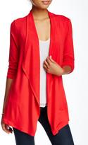 philosophy Long Sleeve Open Front Cardigan