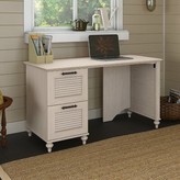 Kathy Ireland Home By Bush Furniture Volcano Dusk Double File Drawer Computer Desk Home by Bush Furniture
