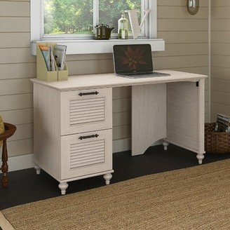 Kathy Ireland Home by Bush Furniture Volcano Dusk Double File Drawer Computer Desk