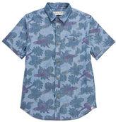 Sovereign Code Boys 8-20 Abram-Print Cotton Shirt