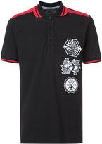Philipp Plein embroidered polo shirt