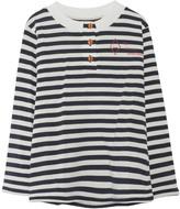 THE ANIMALS OBSERVATORY Sailor Whistler Henley Neck Shirt