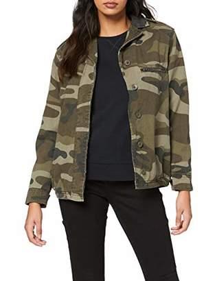 New Look Women's 3853431 Jackets, (Green Pattern)