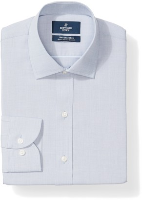 Buttoned Down Amazon Brand Men's Slim Fit Stretch Poplin Non-Iron Dress Shirt