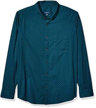 Cinch Men's Classic Fit Long Sleeve Button One Open Pocket Shirt