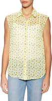 The Kooples Women's Floral Printed Sleeveless Shirt
