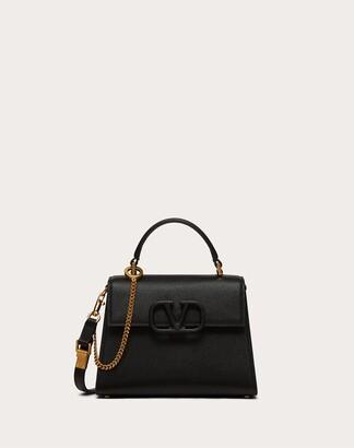 Valentino Small Vsling Grainy Calfskin Handbag Women Rose Quartz 100% Pelle Di Vitello - Bos Taurus OneSize