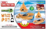 Real Construction Motorized Boats Action Set