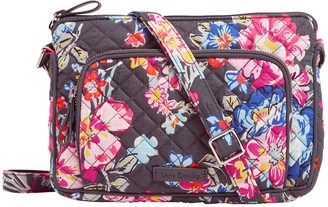 Vera Bradley Signature Iconic RFID Little Hipster