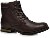 Red Herring Dark Brown Lace Up Boots