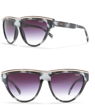 Quay 50mm Flight Risk Cat Eye Sunglasses