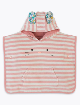 Marks and Spencer Striped Poncho Hooded Towel (0 - 36 Mths)