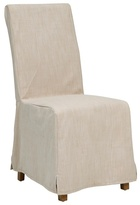 debenhams pair of cream 39 wadebridge 39 removable cover dining chairs