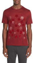 Z Zegna Flocked Pentagon Mercerized Cotton T-Shirt