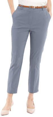 Chloé Tokito Cropped Belted Pant - Dusty Blue Dusty
