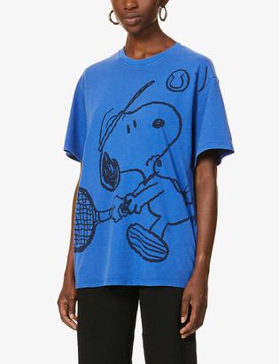 Levi's x Peanuts oversized cotton-jersey T-shirt