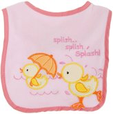 Universal Textiles Baby Boys/Girls Splash Duck Design Touch Fastening Bib