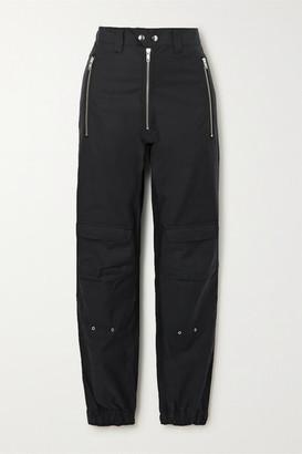 GmbH + Net Sustain Yolanda Organic Cotton-blend Straight-leg Pants - Black