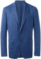 Salvatore Ferragamo classic blazer - men - Silk/Linen/Flax/Cupro/Virgin Wool - 48